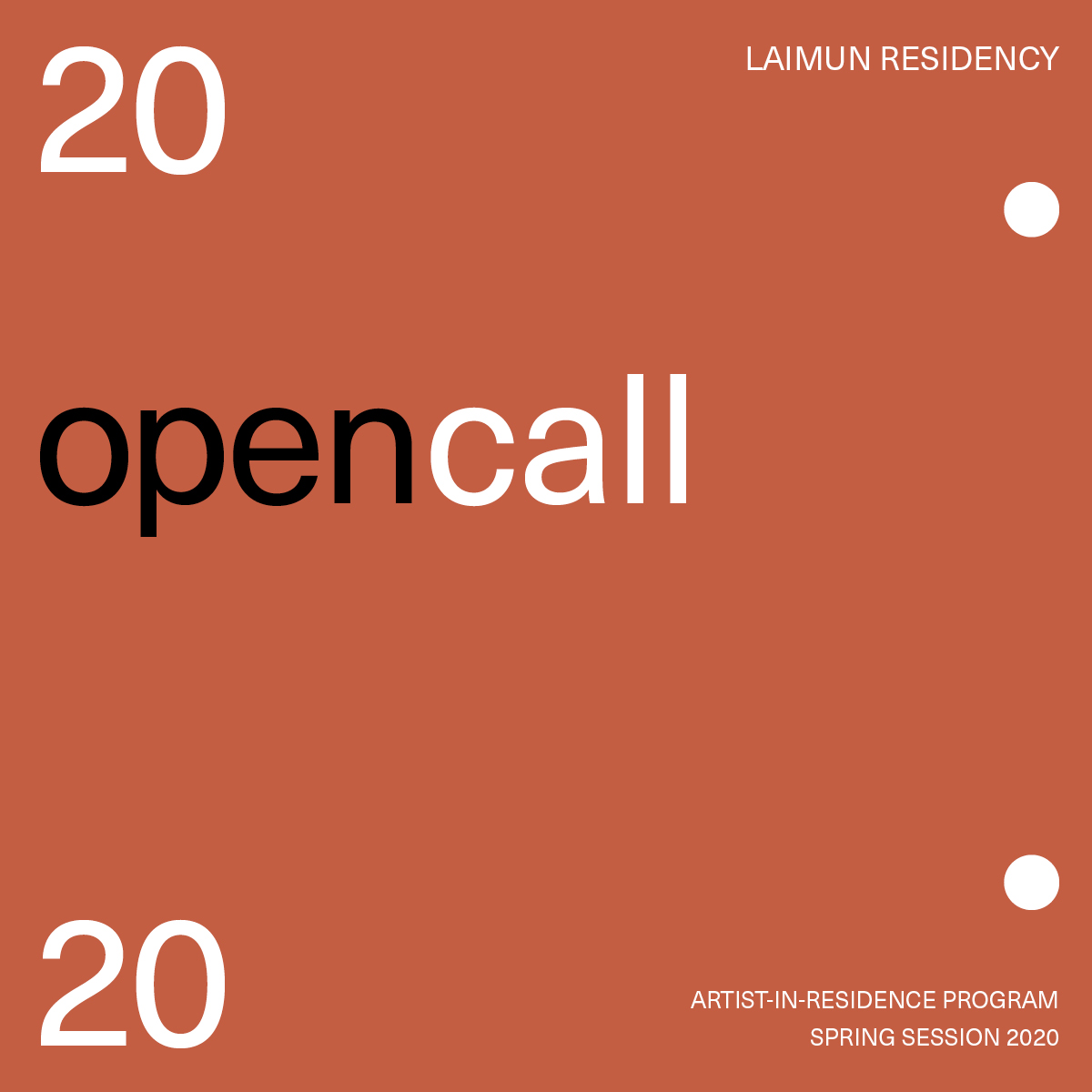 Laimun Residency Open Call 2020